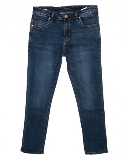 0490-73A Likgass джинсы мужские батальные синие осенние стрейчевые (32-38, 7 ед.) Likgass