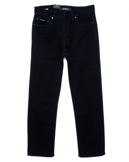0026 (L26) (34-46) Likgass джинсы мужские батальные темно-синие осенние стрейчевые (34-46, 6 ед.) Likgass