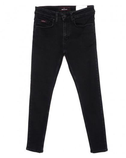 0353 Red Moon джинсы мужские черные зауженные осенние стрейчевые (29-36, 7 ед.) Red Moon
