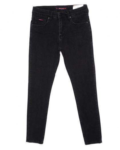 0473 Red Moon джинсы мужские черные зауженные осенние стрейчевые (29-36, 7 ед.) Red Moon