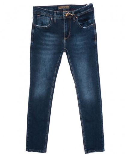 6022 Blue Nil джинсы мужские молодежные синие осенние стрейчевые (27-32, 8 ед.) Blue Nil
