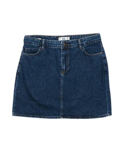 6010-B2 Real Focus юбка батальная джинсовая осенняя котоновая (30-34, 5 ед.) Real Focus