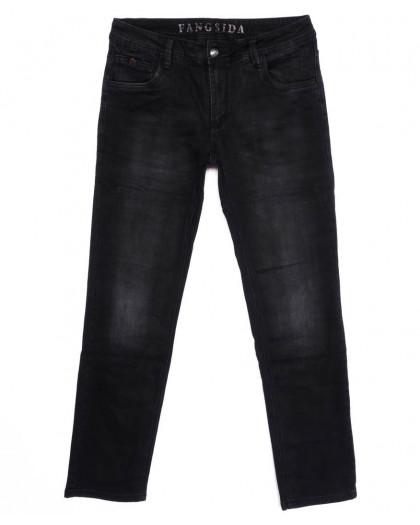 8201 Fangsida джинсы мужские темно-серые осенние стрейчевые (30-38, 8 ед.) Fangsida