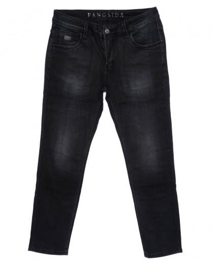 8174 Fangsida джинсы мужские темно-серые осенние стрейчевые (29-38, 8 ед.) Fangsida