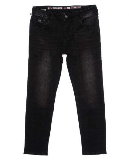 8176 Fangsida джинсы мужские темно-серые осенние стрейчевые (30-38, 8 ед.) Fangsida
