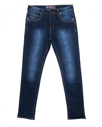 2707 Bagrbo джинсы мужские молодежные синие осенние стрейчевые (28-36, 8 ед.) Bagrbo