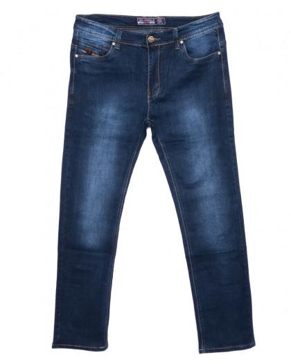 0709 Bagrbo джинсы мужские батальные синие осенние стрейчевые (32-38, 8 ед.) Bagrbo