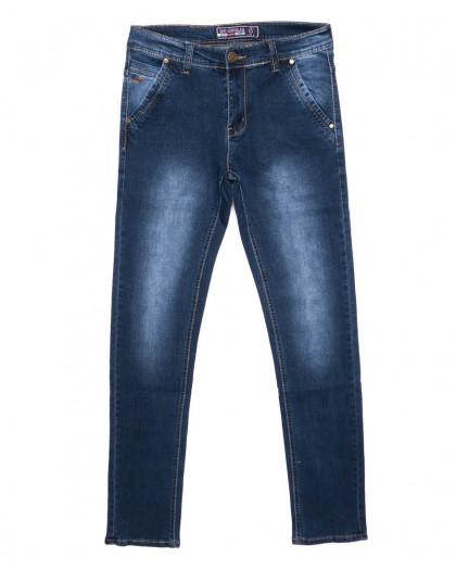 2701 Bagrbo джинсы мужские молодежные синие осенние стрейчевые (28-36, 8 ед.) Bagrbo
