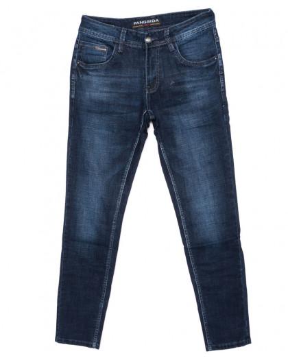 8182 Fangsida джинсы мужские молодежные синие осенние стрейчевые (28-36, 8 ед.) Fangsida