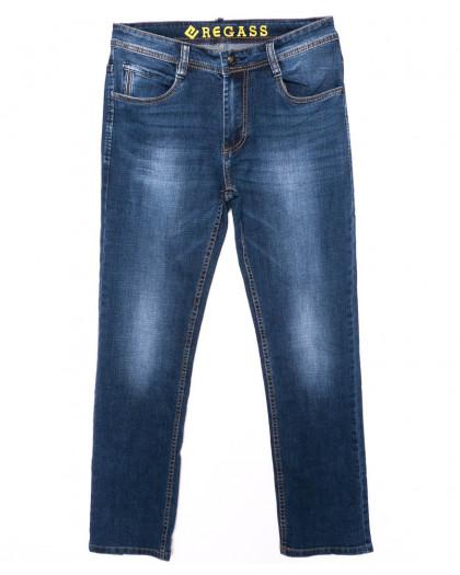 7896-03 Regass джинсы мужские батальные синие осенние стрейчевые (32-38, 7 ед.) Regass