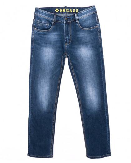 7898-03 Regass джинсы мужские синие осенние стрейчевые (31-38, 8 ед.) Regass
