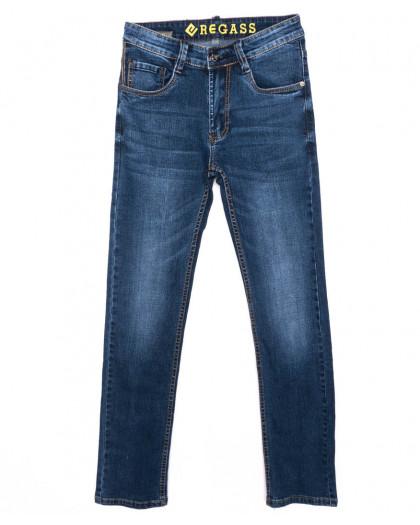 7892-06 Regass джинсы мужские синие осенние стрейчевые (29-38, 8 ед.) Regass