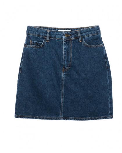 6010-02 Real Focus юбка джинсовая женская синяя осенняя котоновая (26-30, 5 ед.) Real Focus