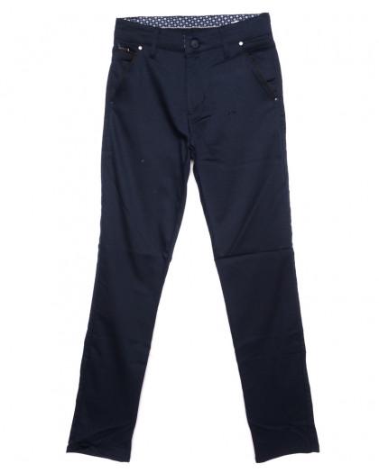 0970-ALT Big Jesuis брюки мужские синие осенние стрейч-котон (29-36, 8 ед.) Big Jesuis