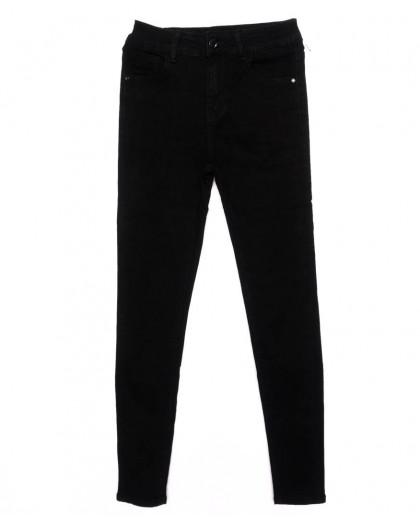3319 New jeans американка черная осенняя стрейчевая (25-30, 6 ед.) New Jeans