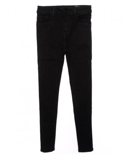 3316 New jeans американка черная осенняя стрейчевая (25-30, 6 ед.) New Jeans