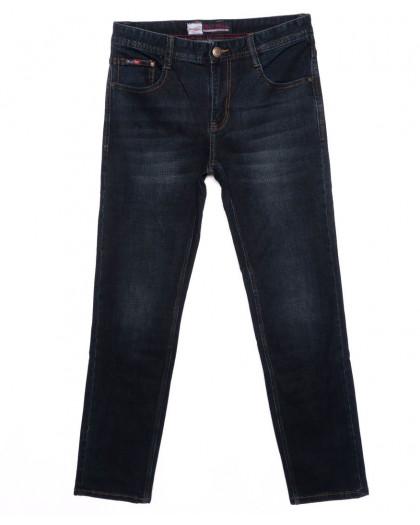 0205 Rodi джинсы мужские батальные темно-синие осенние стрейчевые (32-38, 8 шт.) Rodi