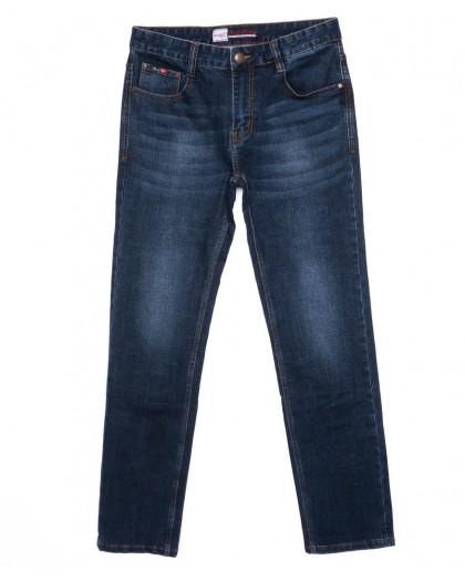 0207 Rodi джинсы мужские батальные темно-синие осенние стрейчевые (32-38, 8 шт.) Rodi