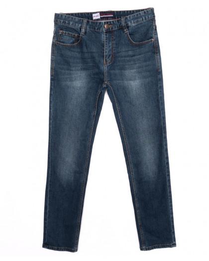 0203 Rodi джинсы мужские батальные синие осенние стрейчевые (32-36, 8 шт.) Rodi