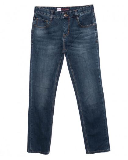 0206 Rodi джинсы мужские батальные синие осенние стрейчевые (32-38, 8 шт.) Rodi