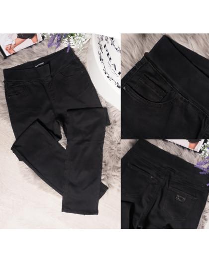 8845 LDM джинсы женские батальные на резинке осенние стрейчевые (32-42, 6 ед.) LDM