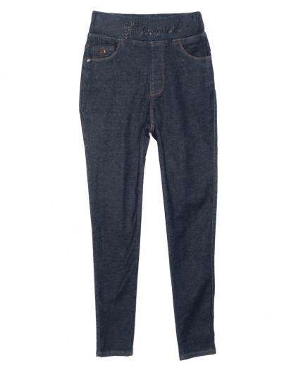 9729 Dimarkis Day джинсы женские батальные на резинке синие осенние стрейчевые (28-33, 6 ед.) Dimarkis Day