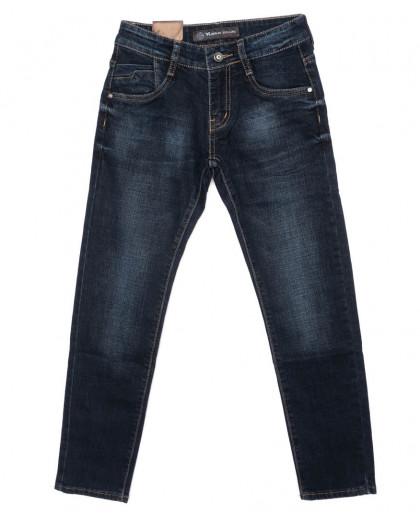 1950 Viman джинсы мужские молодежные синие осенние стрейчевые (25-30, 6 ед.)  Viman