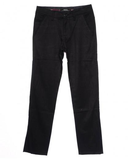 0037-P115 New Feerars джинсы мужские молодежные черные осенние стрейчевые (27-34, 8 ед.)  New Feerars