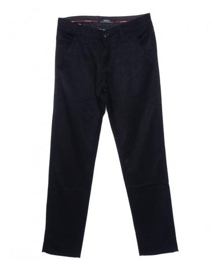 0037-P117 New Feerars джинсы мужские молодежные темно-синие осенние стрейчевые (27-34, 8 ед.)  New Feerars