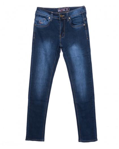 2703 Bagrbo джинсы мужские молодежные синие осенние стрейчевые (27-34, 8 ед.)  Bagrbo