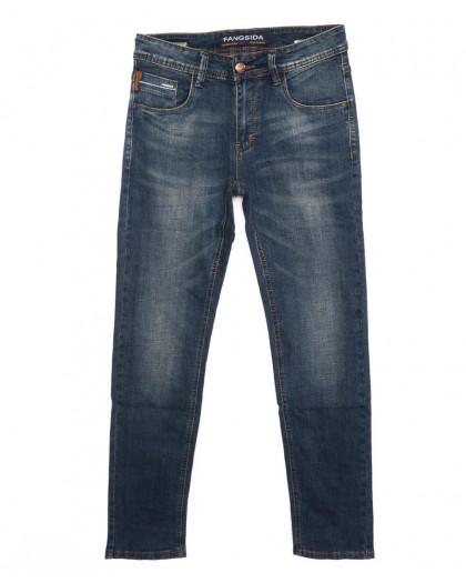 8216 Fangsida джинсы мужские синие осенние стрейчевые (29-38, 8 ед.)  Fangsida