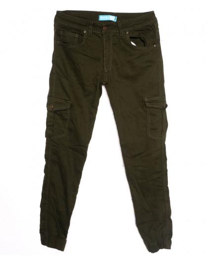 5946-хаки Destry джинсы мужские на резинке хаки осенние стрейчевые (29-36, 8 ед.) Destry