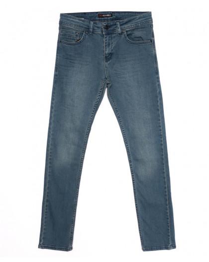 6860 Azarro джинсы мужские синие осенние стрейчевые (29-36, 8 ед.) Azarro