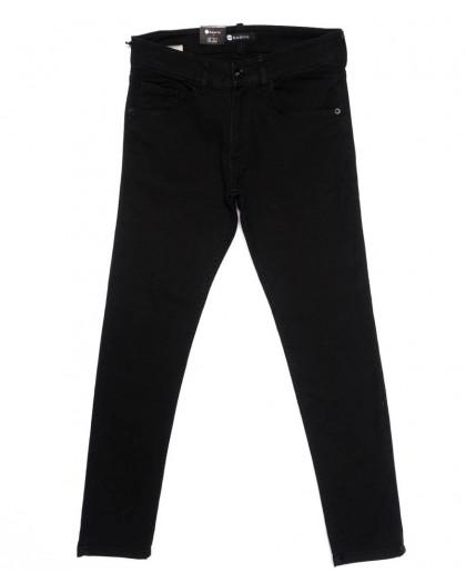 11004 Azarro джинсы мужские черные осенние стрейчевые (29-38, 8 ед.) Azarro