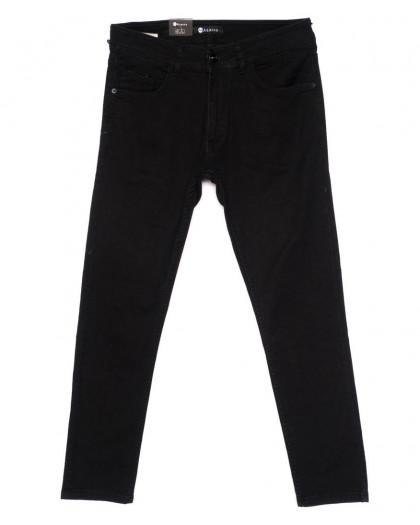 11005-1 Azarro джинсы мужские черные осенние стрейчевые (29-38, 9 ед.) Azarro