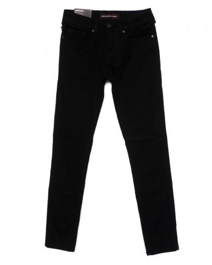 0525 Redmoon джинсы молодежные черные осенние стрейчевые (27-33, 8 ед.) Red Moon