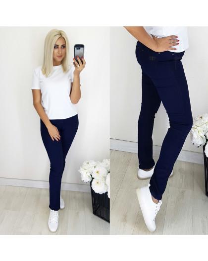 5064 Easy cool джинсы женские батальные темно-синие осенние стрейчевые (31-38, 6 ед.) Easy cool