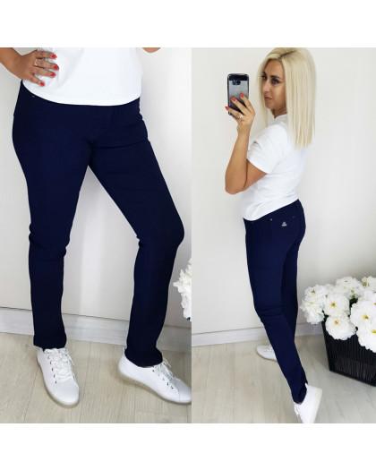 5062 Easy cool джинсы женские батальные темно-синие осенние стрейчевые (30-36, 6 ед.) Easy cool