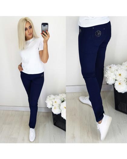 5058 Easy cool джинсы женские батальные темно-синие осенние стрейчевые (31-38, 6 ед.) Easy cool