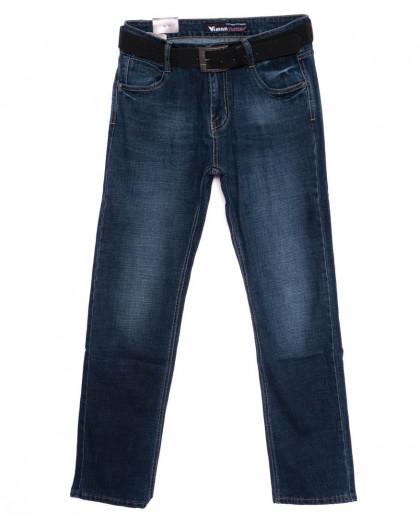 19026 Viman джинсы мужские синие осенние стрейчевые (30-40, 6 ед.) Viman