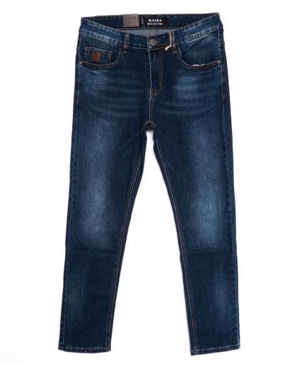 1036 M.Sara джинсы мужские синие осенние стрейчевые (31-38, 6 ед.) M.Sara