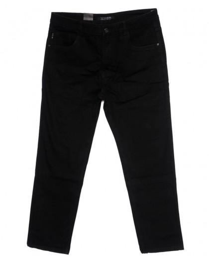 120234-D Vitiso джинсы мужские батальные черные осенние котоновые (34-42, 8 ед.) Vitiso