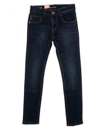 120245 LS джинсы мужские молодежные синие осенние стрейчевые (27-34, 8 ед.) LS