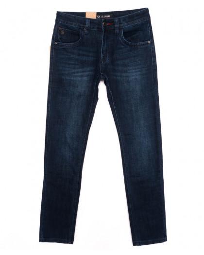 120240 LS джинсы мужские молодежные синие осенние стрейчевые (27-34, 8 ед.) LS