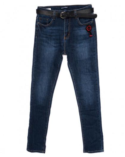 9344 LDM джинсы женские батальные синие осенние стрейчевые (30-36, 6 ед.) LDM