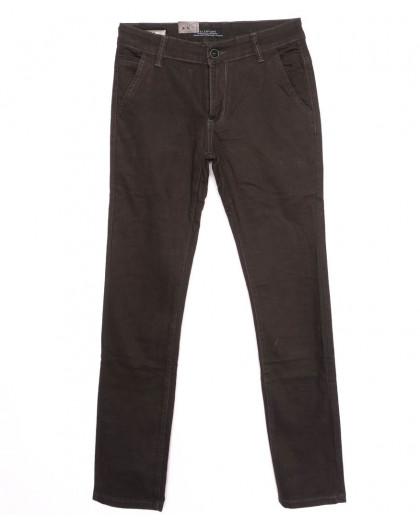 140086 LS брюки мужские молодежные с карманами на резинке осенние стрейчевые (28-34, 7 ед.) LS
