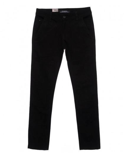 140075 LS брюки мужские молодежные черные осенние стрейчевые (28-34, 8 ед.) LS