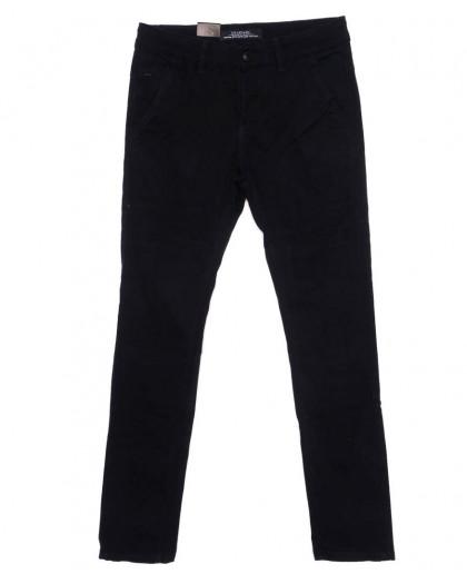 140089 LS брюки мужские молодежные черные осенние стрейчевые (28-34, 8 ед.) LS