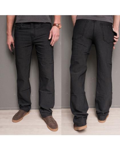 0182-11 Hugo Boss джинсы мужские черные осенние стрейчевые (30-40, 12 ед.) Brand (Copy)