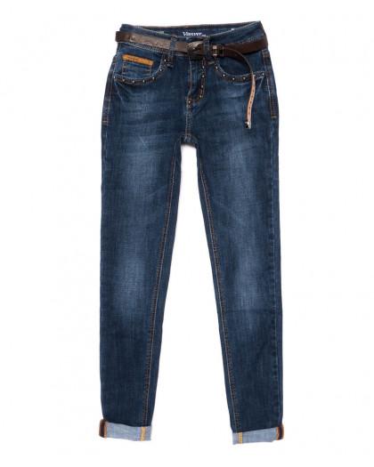 8161 Vanver джинсы женские стильные синие осенние стрейчевые (25-30, 6 ед.) Vanver